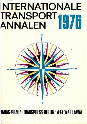 Internationale Transport Annalen 1976: Lausmanova, Zdenka, Eberhard