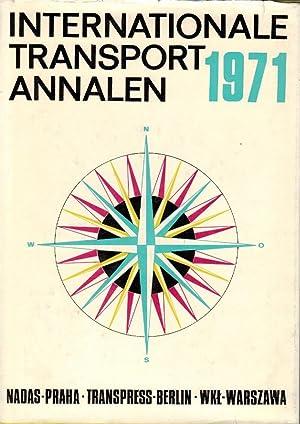 Internationale Transport Annalen 1971: Lausmanova, Zdenka, Eberhard