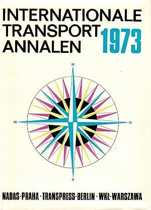 Internationale Transport Annalen 1973: Lausmanova, Zdenka, Eberhard