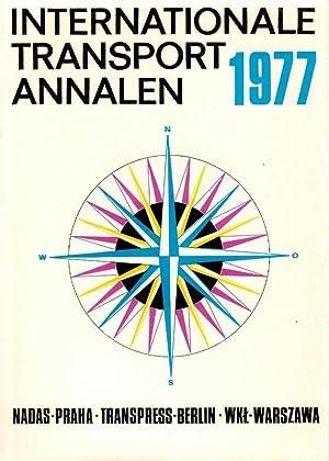 Internationale Transport Annalen 1977: Lausmanova, Zdenka, Eberhard