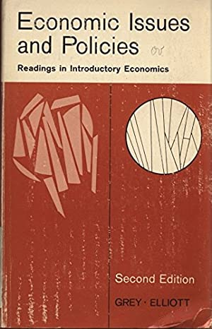 Economic Issues and Policies: Readings in Introductory Economics.