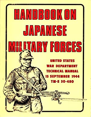 Handbook on Japanese Military Forces US War Department