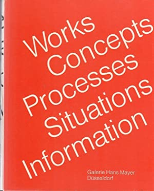Works, concepts, processes, situations, information / curated: Nickas, Robert: