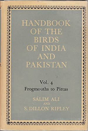 Handbook of the Birds of India and Pakistan: Together with Those of Nepal, Sikkim, Bhutan and Cey...