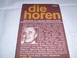 Die Horen: Zeitschrift für Literatur, Grafik und: Morawietz [Hrsg.], Kurt: