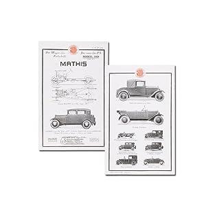 Der Wagen des Fortschritts. Der neue 5/22: Mathis Automobile (Hrsg.)