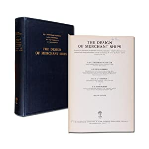 The Design of Merchant Ships. A manual for determining the principal dimensions, engine power and...