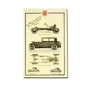 EMYSIX der neue Mathis Sechszylinder 8/40 PS.: Mathis Automobile (Hrsg.)