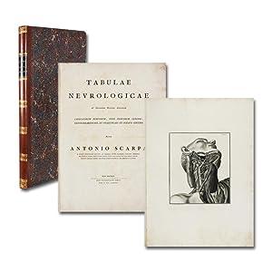 Tabulae neurologicae ad illustrandum historiam anatomicam cardiacorum: Scarpa, Antonio.