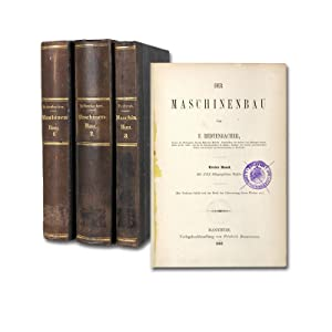 Der Maschinenbau. 3 Bände.: Redtenbacher, F(erdinand).