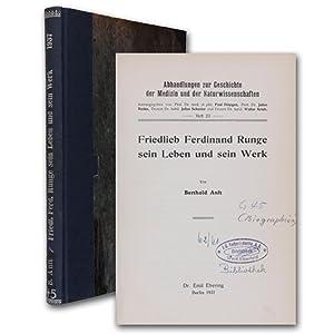 Friedlieb Ferdinand Runge, sein Leben und sein: Runge Anft, Berthold.