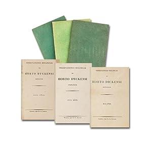 Observationes botanicae in horto Dyckensi notatae. Anno: Salm-Reifferscheid-Dyck, Joseph von).
