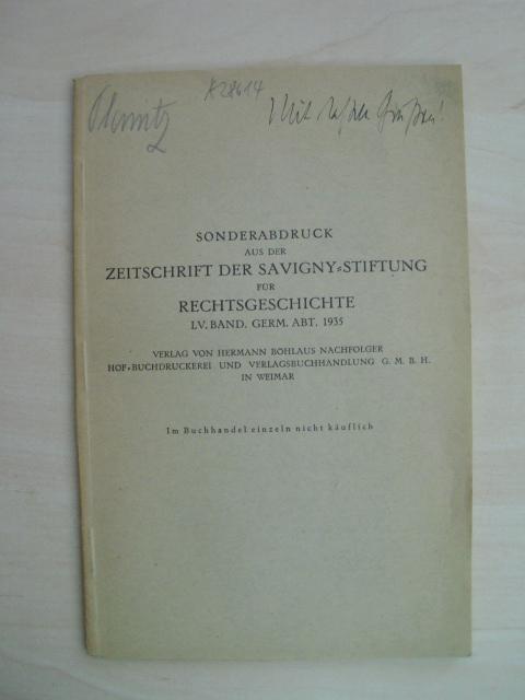 Das Kölner Recht und seine Verbreitung in: Köln. - Planitz,