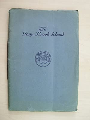 The Stony Brook School. Catalogue 1928 - 1929.