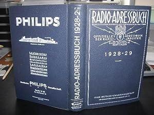 Radio - Adressbuch, Offizielles Adreßbuch der Radio-Industrie und des Radio-Handels in Deutschland ...