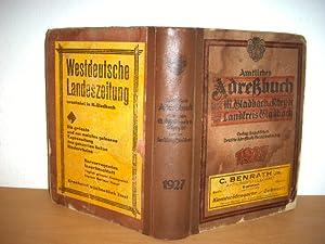 Mönchengladbach, Amtliches Adreßbuch für die Städte M.