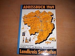 Sonthofen, Adressbuch 1969 Landkreis Sonthofen. Enthält neben Sonthofen Einwohnerverzeichnisse von ...