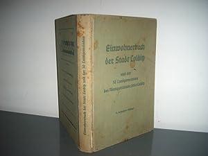 Colditz, Einwohnerbuch der Stadt Colditz und der 30 Landgemeinden des Amtsgerichtsbezirks Colditz ...