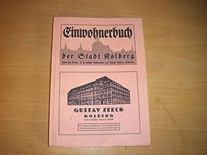 Kolberg, Einwohnerbuch der Stadt Kolberg für das
