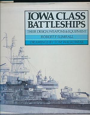 Iowa Class Battleships - Their Design, Weapons: Sumrall, Robert F.