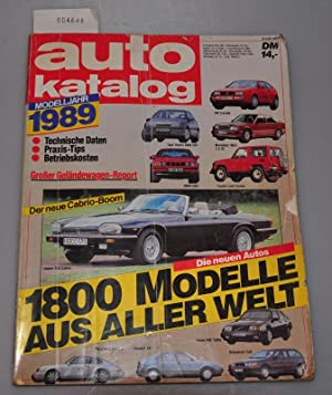 Auto-Katalog Autokatalog Nr. 32 - Modelljahr 1989: Katalog