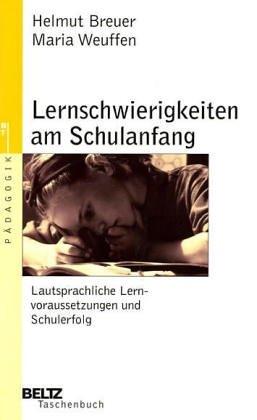 Lernschwierigkeiten am Schulanfang: Breuer, Helmut und
