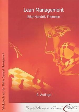 Lean Management.: Thomsen, Eike: