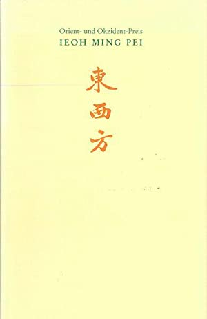 Orient- und Okzident-Preis 2006 - Ieoh Ming: Zintzen, Clemens [Hrsg.]