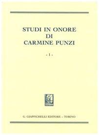 Studi in onore di Carmine Punzi
