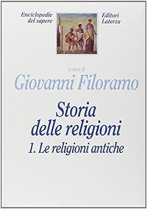 Storia delle religioni: Filoramo, G.: