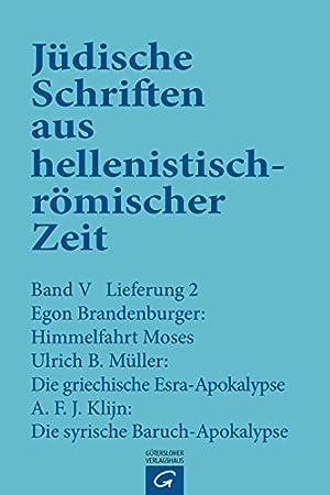 Jüdische Schriften aus hellenistisch-römischer Zeit, Bd 5: Apokalypsen: Himmelfahrt Moses...