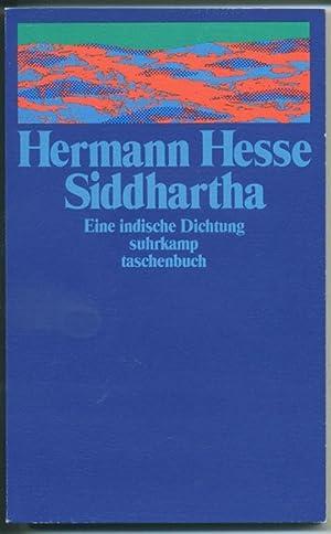 siddhartha eine indische dichtung von hesse hermann frankfurt suhrkamp taschenbuch verlag. Black Bedroom Furniture Sets. Home Design Ideas
