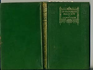 In memoriam Maud and other poems: Tennyson Alfred Lord