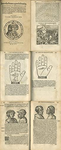 Introductiones apotelesmaticae elegantes, in chyromantiam, physionomiam, astrologiam: Indagine, Johannes ab: