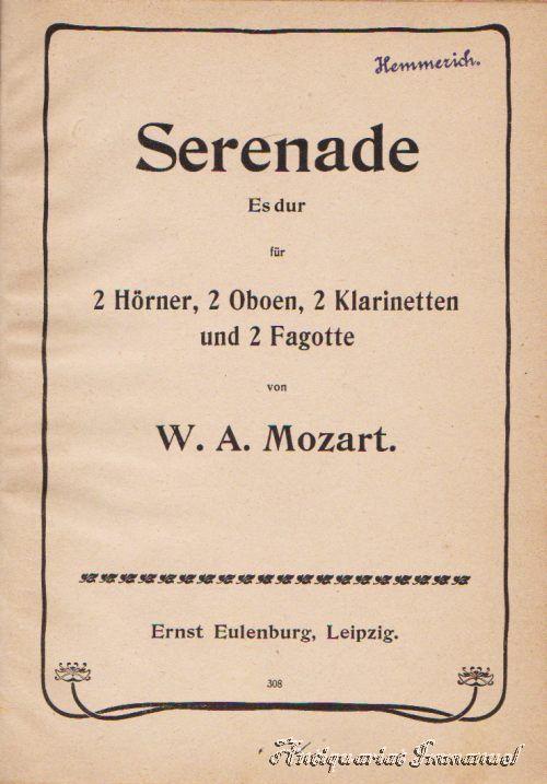 Serenade Es dur für 2 Hörner, 2: Mozart, W. A.