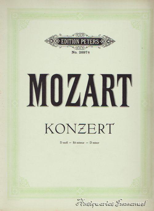 Konzert für Klavier und Orchester mit Begleitung: Mozart, W. A.