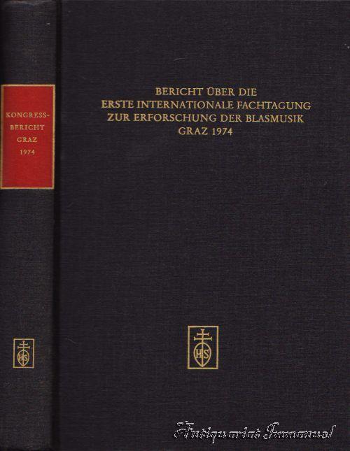 Bericht über die Erste Internationale Fachtagung zur: Suppan, Wolfgang /