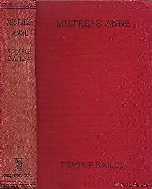 Mistress Anne: Bailey, Temple