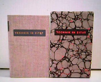 Technik im Zitat.: Peter Hoßfeld und