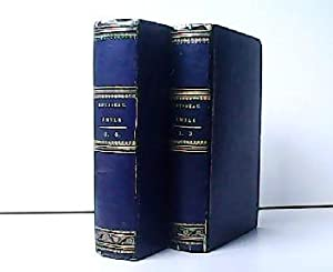 Konvolut aus 2 Bänden ! Emile ou: Jean-Jacques Rousseau: