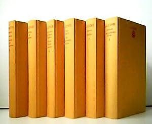 Konvolut aus 6 Bänden! Goethe - Werke.: Johann Wolfgang von