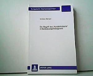 """Der Begriff des """"Handeltreibens"""" im Betäubungsmittelgesetz. Europäische: Andreas Bensch:"""