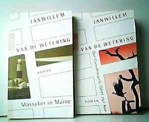 2 Romane. 1. Massaker in Maine. 2.: Jan Willem van
