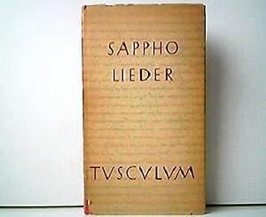 Sappho. Griechisch und deutsch herausgegeben von Max: Max Treu (Hrsg.):