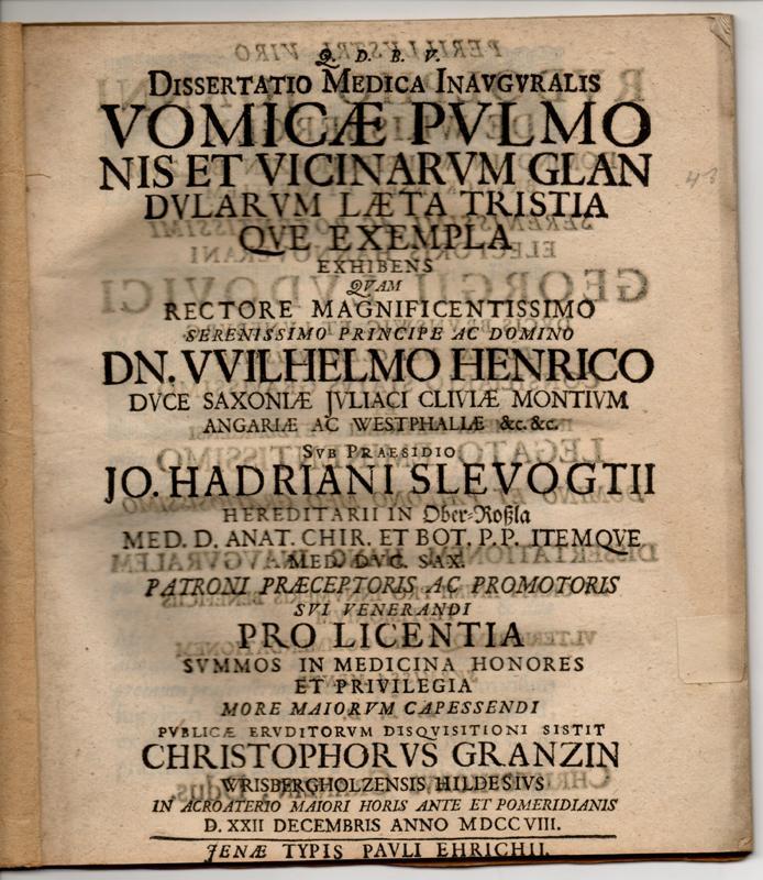 Dissertation jena 1668