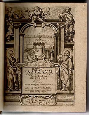 Hortus pastorum in quo continetur omnibus doctrina: Marchantius, Jacobus