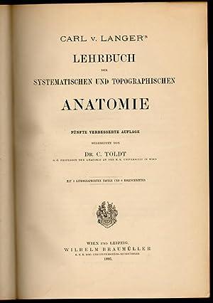 Carl v. Langer's Lehrbuch der systematischen und: Langer, Carl von;