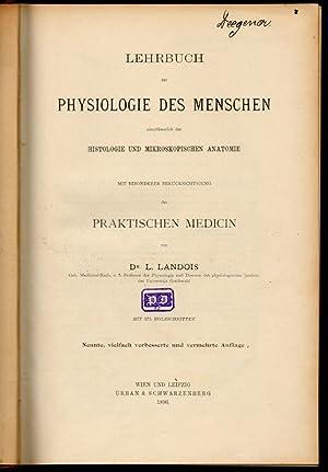 Lehrbuch der Physiologie des Menschen\