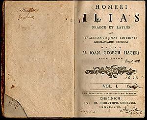 Homeri Ilias : Graece et Latine Vol.: Homer; Hager, Johann