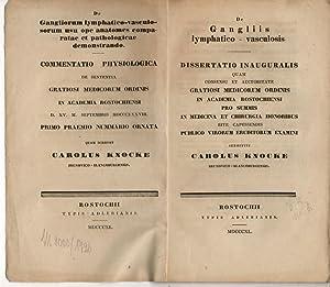 De gangliis lymphatico-vasculosis.: Knocke, Karl: aus